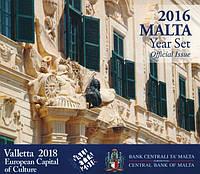 Мальта 2016. Официальный годовой набор монет