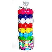 Детские игровые шарики в тубе 0262 Бамсик, 62 шт, диаметр 6 см вакуум арт