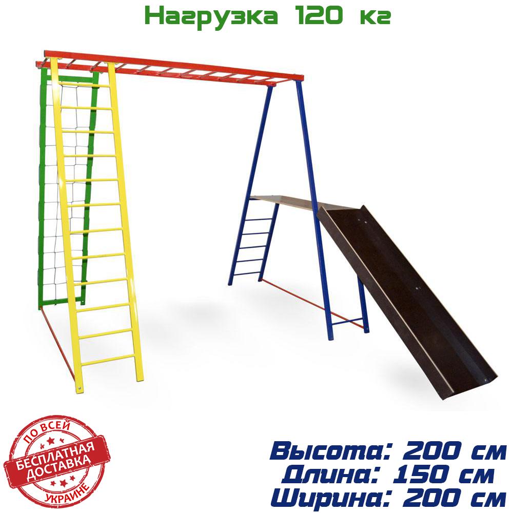 Дитячий спортивний комплекс, майданчик для дітей Disney 200/150/200