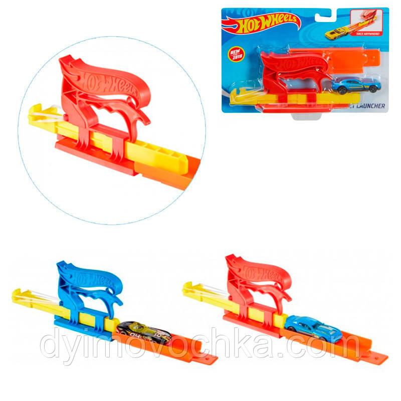 Игровой набор с машинкой «Швидкий старт» Hot Wheels