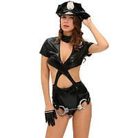 Женский карнавальный костюм сексуальной полиции