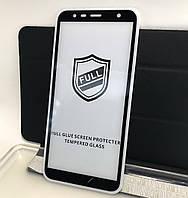 Захисне скло Samsung J4 Plus 2018, J415, J6 Plus J610 3D Black Full Glue