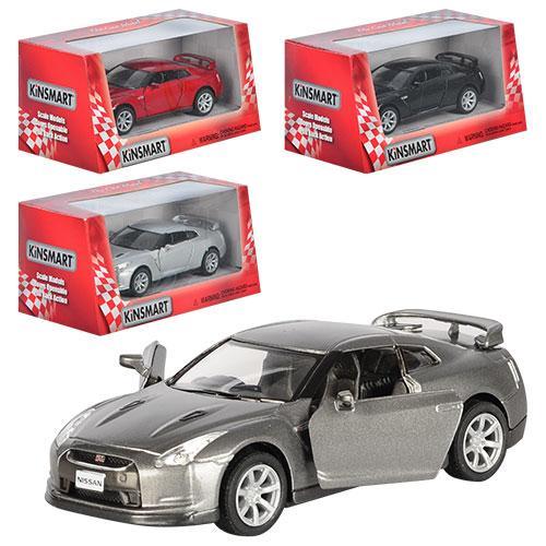 "Машина металл ""KINSMART""  КT 5340 W  2009 Nissan GT-R R3"