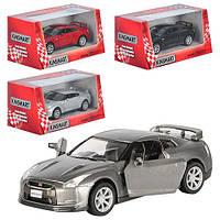 "Машина металл ""KINSMART""  КT 5340 W  2009 Nissan GT-R R3                                            , фото 1"
