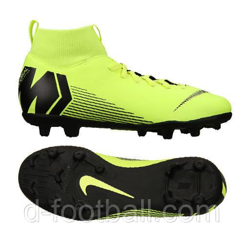 e77df0d2 Футбольные бутсы детские Nike JR Superfly 6 Club MG AH7339-701 ...