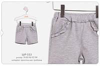 Трикотажные шорты для девочки. ШР 529