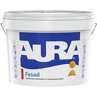 Aura Fasad Белая 7 кг матовая краска для фасада арт.4820166522781