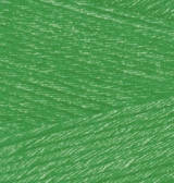 Пряжа Alize Bamboo Fine 562 зеленая трава Alize