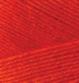 Пряжа Alize Bamboo Fine 56 красный Alize