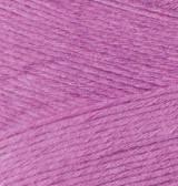 Пряжа Alize Bamboo Fine 46 ярко-розовый Alize