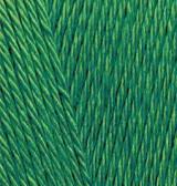Пряжа Alize Bahar 118 зеленая трава Alize