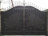 Ворота кованые. Кована брама. 452, фото 1