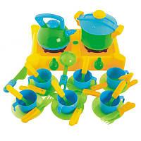 Игровой набор «Плита с посудой»Kinderway04-415