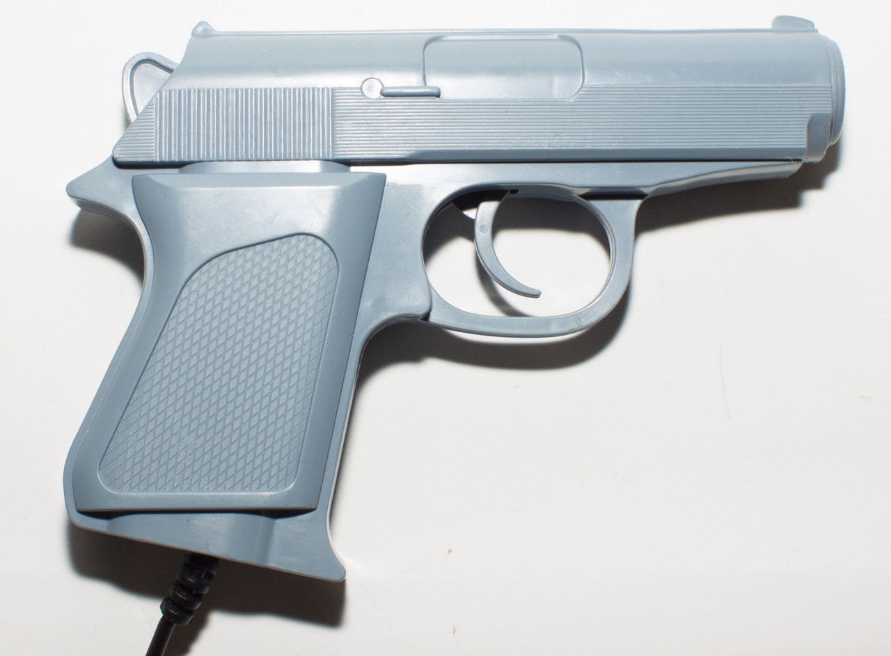 Пістолет для Денді (9 pin, сірий)