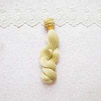 Волосы для Кукол Трессы Волна на Концах БЛОНД 15 см
