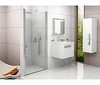 RAVAK Душевые двери CSD1-80 satin+Transparent (0QV40U00Z1)
