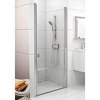 RAVAK Душевые двери CSD1-80 bright alu+Transparent (0QV40C00Z1)