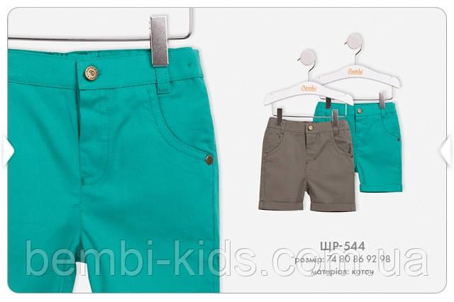 Літні шорти для хлопчика. ШР 544