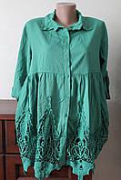 Плаття-рубашка кружево 2