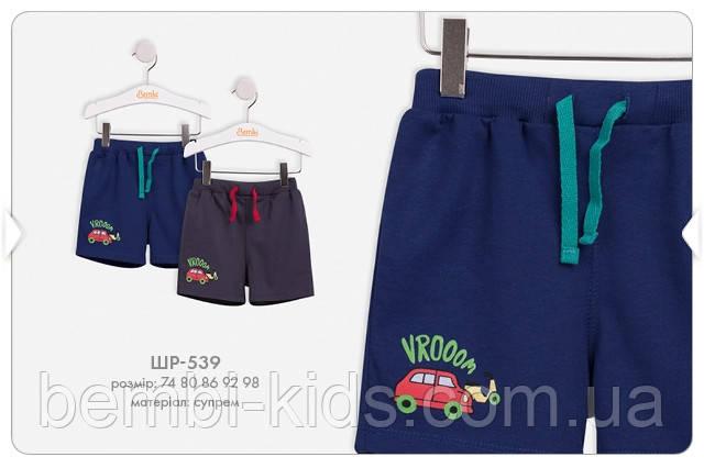Трикотажні шорти для хлопчика. ШР 539