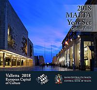 Мальта 2018. Официальный годовой набор монет