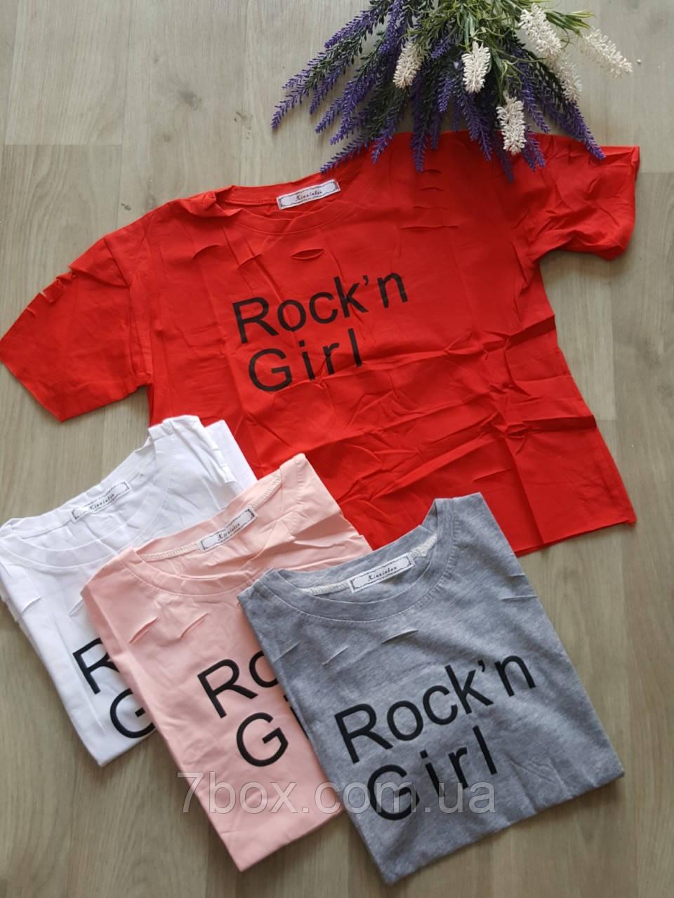 Топ женский Rock.n girl НОРМА (42-46 универсальный)