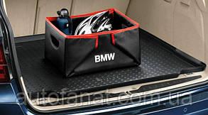 Коврик в багажник BMW 5 (F11) оригинальный черный (51472154480)