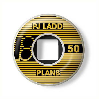 Колеса Plan B PJ Ladd Blk/Yel 50 mm