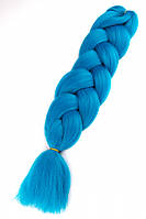 Канекалон однотонный (голубой)