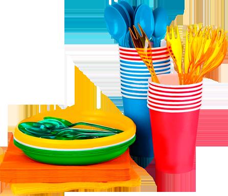 одноразовая посуда наборы фото