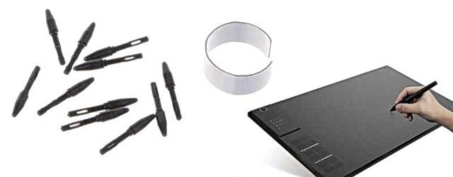 Сменные наконечники для пера к графическому планшету Huion