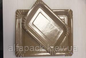Тарелка прямоугольная с ламинацией 150*220 мм