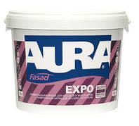 Aura Fasad Expo Бесцветная TR 9 л акриловая универсальная краска арт.4820166523108