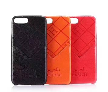 """Iphone 6 / 6s / 6plus оригинальный кожаный чехол панель бампер накладка НАТУРАЛЬНАЯ КОЖА брендовый """" Hermes """""""