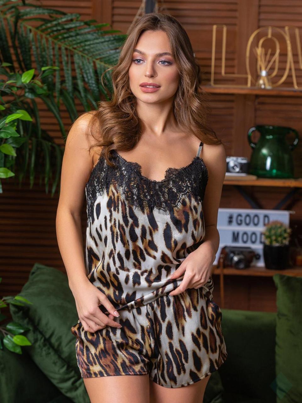 Комплект Лето леопард