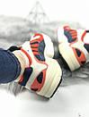 Женские кроссовки Adidas Young красно-белые , фото 2