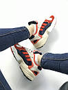 Женские кроссовки Adidas Young красно-белые , фото 5