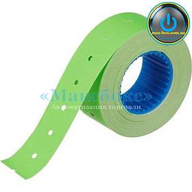 Ценники (этикет лента) 21 x 12 зелёная прямоугольная