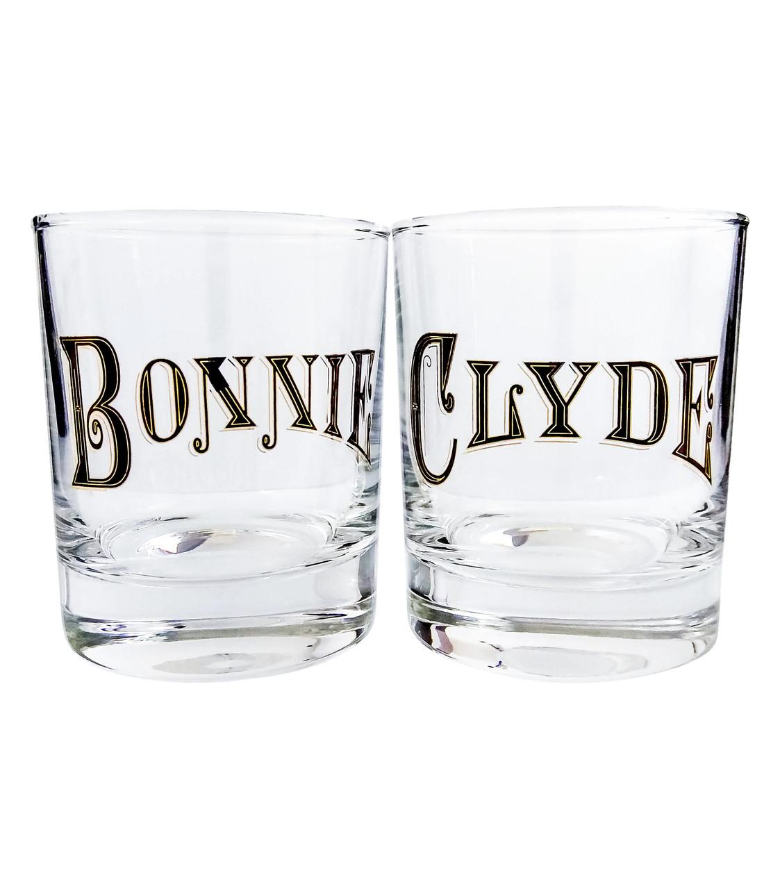 Набор для виски Bonnie и Clyde
