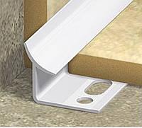 Уголок для плитки пластмассовый ПВХ ! Белые и цветные !