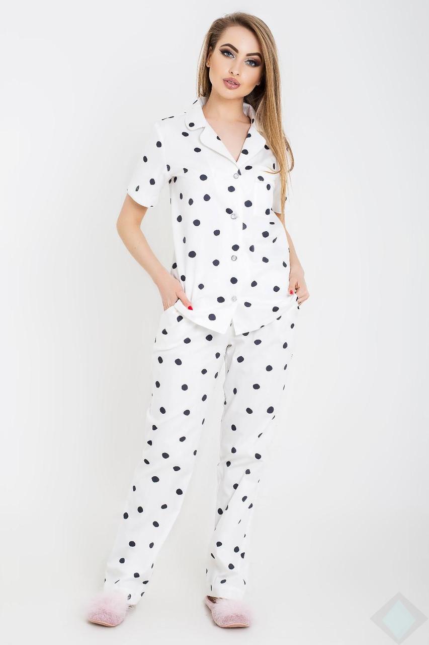 Пижама Нади горох