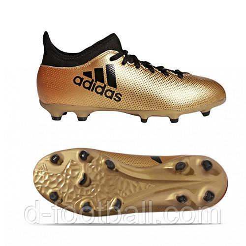 a2744e2a Детские футбольные бутсы adidas X 17.3 FG Junior CP8990, цена 1 490 грн.,  купить в Киеве — Prom.ua (ID#933448234)