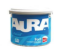 Aura Fasad Fort Белая 2,5 л Краска фасадная модифицированная силиконом арт.4820166521326