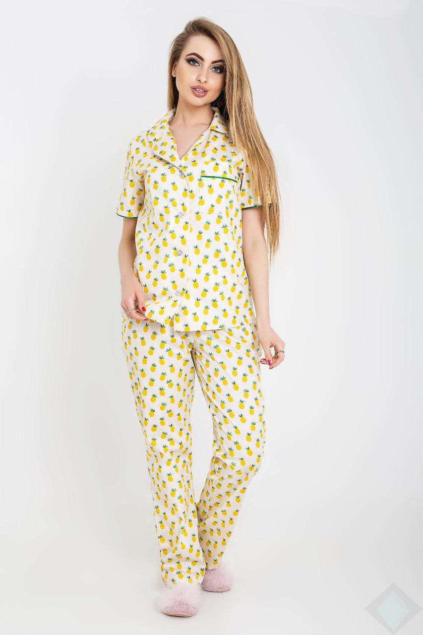 Пижама Нади ананас