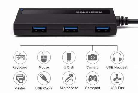 USB 3.0 Hub хаб Rocketek