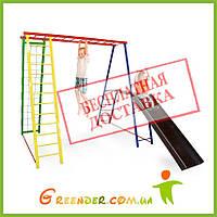 Детская спортивно-игровая металлическая площадка  Disney 200/150/200