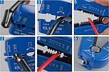 Стриппер многофункциональный для зачистки и резки провода UNISON 6751-44USKING TONY, фото 2