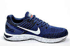 Мужские кроссовки в стиле Nike Air Zoom Focus, Dark blue\White, фото 3