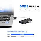 USB 3.0 Hub хаб Rocketek. USB хаб 4*USB 3.0, фото 3