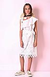 Батистовое  детское платье  р-ры 164, фото 2